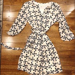 MAX STUDIO Waist Tied Dress